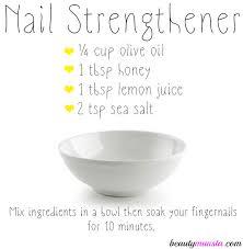 diy nail strengthener for strong healthy u0026 shiny nails diy