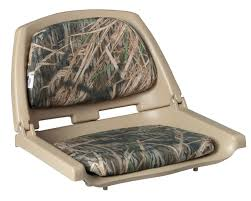 wise camouflage molded plastic seat with cushions iboats com