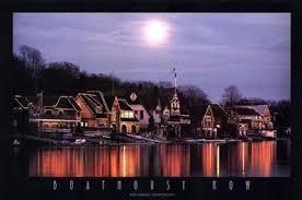 Boat House Row - amazon com boathouse row by jerry driendl 24 x 36 inches fine