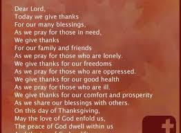 thanksgiving prayers simple thanksgiving blessings
