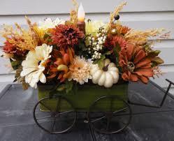 fall flower arrangements for weddings outdoor planters arrangement