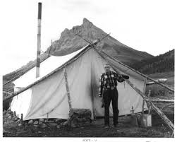 Wall Tent by File Junjik Valley Man And Wall Tent Picture From The U S Fish
