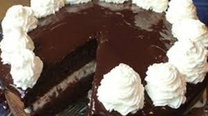 dark chocolate orange cake with cannoli filling recipe