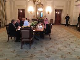 saudi deputy crown prince meets with trump at white house baaz