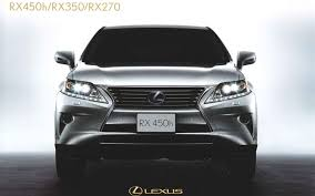lexus rx 400h facelift leaked refreshed 2013 lexus rx crossover photos revealed