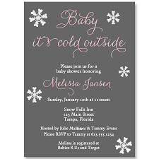 baby it u0027s cold outside pink baby shower invitation u2013 the invite lady