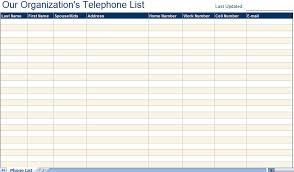 4 best images of free printable phone directory template medical
