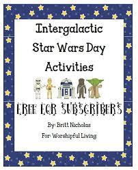free intergalactic star wars printable pack
