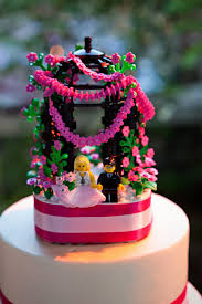 lego wedding cake topper i got married may 1 2010 and cre u2026 flickr