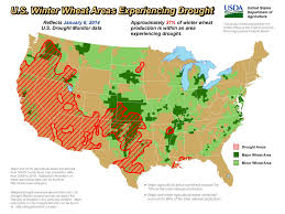 california drought map january 2016 ndmc news