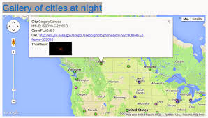 Google Maps Montana Loss Of The Night Citizen Science Project July 2014