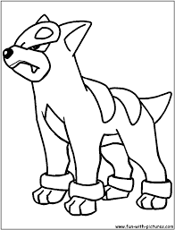 hd wallpapers pokemon coloring pages houndoom rre nebocom press
