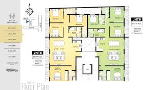 typical floor plan blue ocean real estate construction engineering apartments