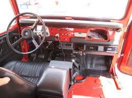 Toyota Land Cruiser Interior Old Air Products Toyota Land Cruiser Interior Dash View