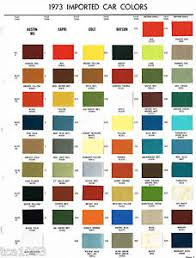 painting color value chart car interior design car auto paint