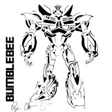 bumblebee transformer cake topper free printable transformers bumblebee stencil by dragongirl508 transformers