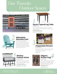 Our Favorite Outdoor Rooms - martin u0027s chair debuts