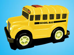 cartoon car back kids cartoon bus