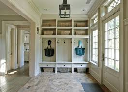 brick floor in mudroom cottage mudroom mudroom lighting