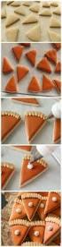 A Chef Slicing A Pumpkin by How To Make Mini Pumpkin Pie Slice Cookies Via Sweetsugarbelle Com