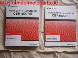 cbr 1000 rr sc57 modell 2004 2007 werkstatthandbuch service