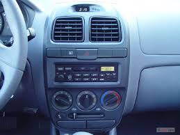 hyundai accent 4 door sedan image 2004 hyundai accent 4 door sedan gl manual instrument panel