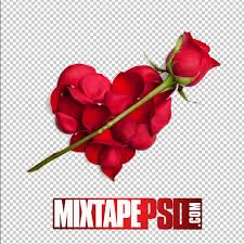 free petal of roses heart template mixtapepsd com