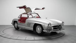 mercedes 300sl 1954 mercedes 300sl with canadian roots sells for 1 9m
