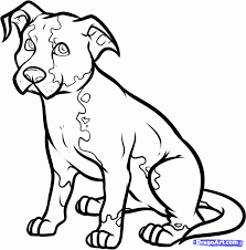 coloring pages amusing how to draw a pet dog pcodkbqzi coloring