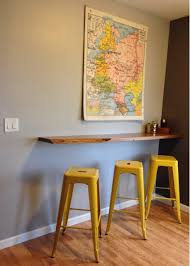What Is A Breakfast Nook by Floating Breakfast Bar Wall Mounted Breakfast Bar Decorvoon