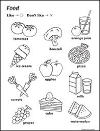 food worksheet maple leaf learning library