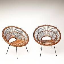rattan hoop chairs in the manner of janine abraham http www