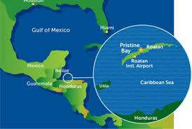 map of roatan honduras home las verandas