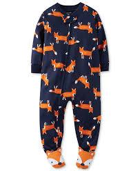 s baby boys fox coverall pajamas baby boy 0 24