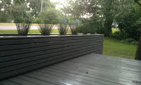 Modern Fence by Our Care Free Home Our Outdoor Living Room Part 2 Finishing Our