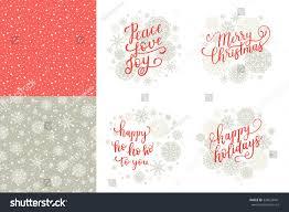 merry happy holidays happy ho stock vector 536629441