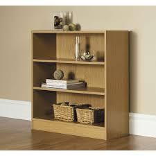 Cheap Oak Bookcases Bookcases Office Furniture Walmart Com Mainstays Wide 3 Shelf