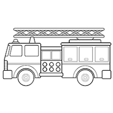 coloring marvelous coloring book truck ladder coloring