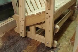 cool design 10 homemade porch swing glider plans swing bench plans