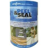 peel and seal mfm peel seal aluminum roll roofing 50042 do it best