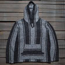 Chunky Wool Rug Stussy Men Chunky Knit Drug Rug Sweater Gray