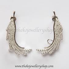 ear cuffs online shopping silver ear cuffs ko jewellery