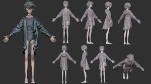 imagenes variadas en 3d artstation robin 3d modeling ana e lizárraga