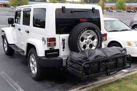 cargo rack for jeep great day hitch n ride magnum cargo carriers black silver