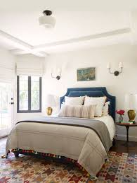 a simple eclectic guest bedroom emily henderson