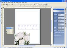 wedding invitation software wedding invitation programs vertabox