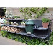 aussenk che mauern outdoor küche edelstahl outdoor k che mit pizzaofen und edelstahl