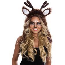 Deer Antlers Halloween Costume Deer Hoodie Women U0027s Halloween Costume Walmart