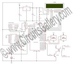 project electronic circuit smart helmet for motorcycle with