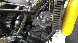1993 rm 125 rebuild stretching head gasket and installing head